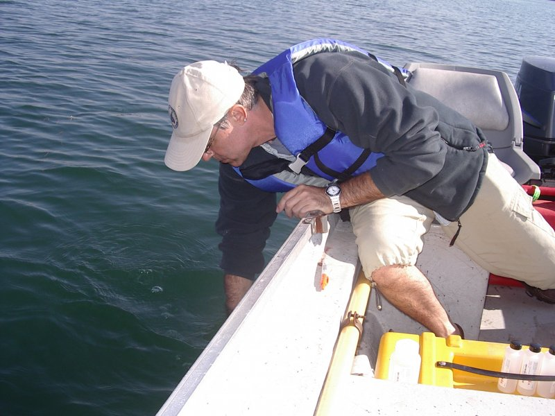 Lake Water Sampling